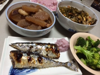 秋刀魚が美味しい