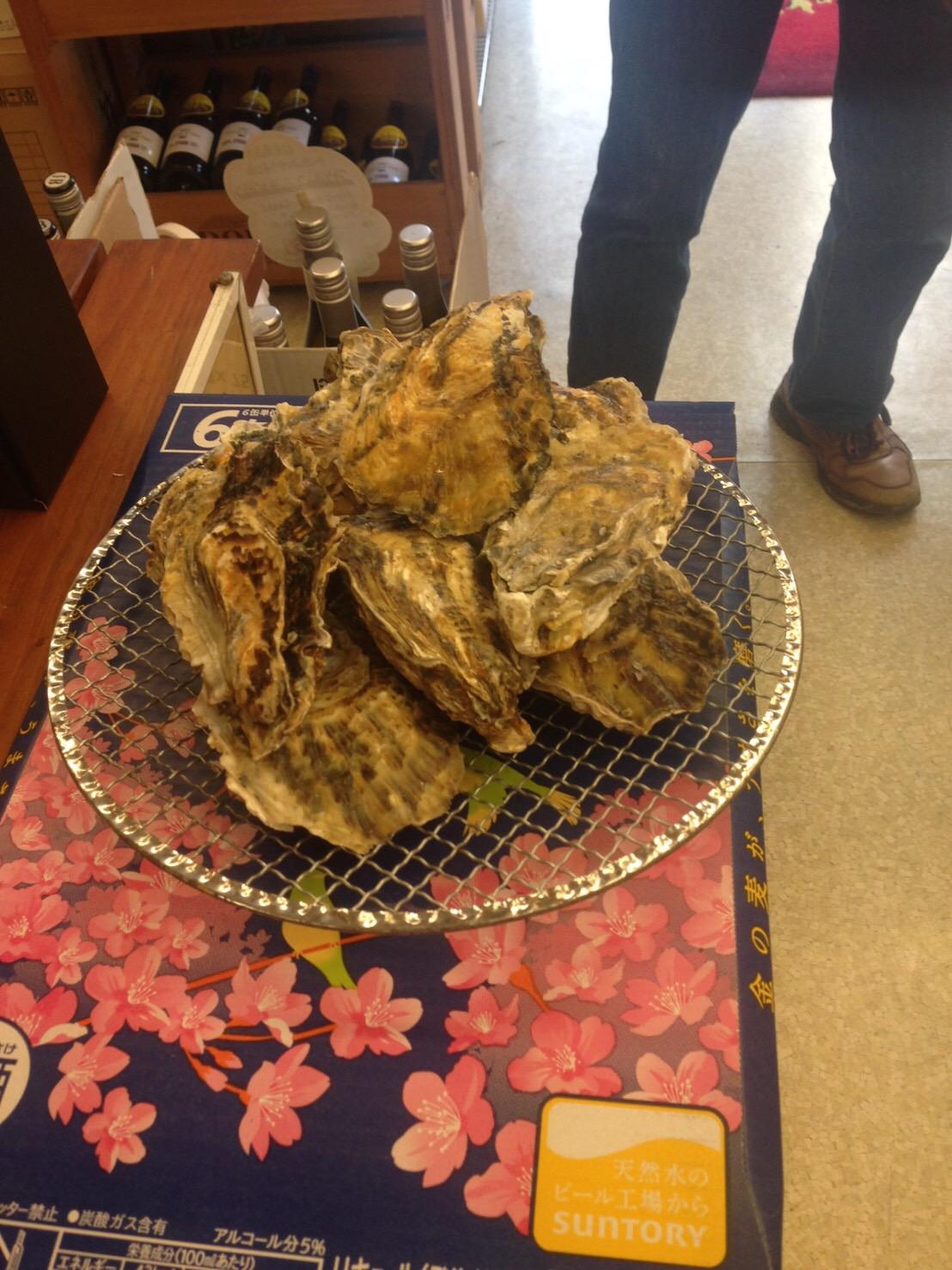 事後報告、牡蠣祭り